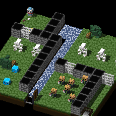 leveled dungeon