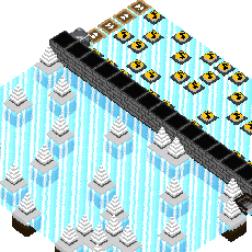 Ice slide Dungeon